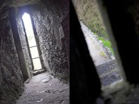 Arrowslits of Blarney Castle - Blarney, Ireland