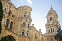 Malaga Cathedral bell tower - Malaga, Spain
