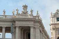 Inscription commémorative et emblème d'Alexandre VII - Cité du Vatican, Saint-Siège