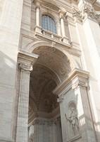 Arche sud à côté de la Basilique Saint-Pierre - Cité du Vatican, Saint-Siège