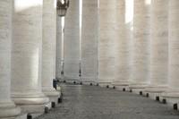 Colonnade du Vatican - Cité du Vatican, Saint-Siège