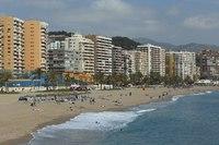 Malaga beach - Malaga, Spain