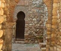 Alcazaba interior - Malaga, Spain