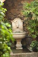 Alcazaba fountain - Malaga, Spain