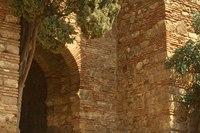 Alcazaba walls - Malaga, Spain