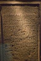 Roman inscription - Malaga, Spain