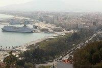 Park and the Palmeral de las Sorpresas - Malaga, Spain