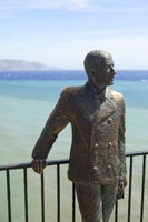 Statue of King Alfonso XII - Nerja, Spain