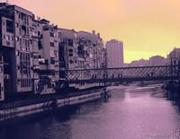 Ponte delle Pescateries Velles - Girona, Spagna