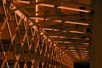 El puente Eiffel en Infrarrojo - Girona, España