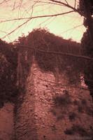 Le mura di Girona accanto ai Giardini Francesi - Girona, Spagna