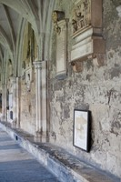 North cloister wall of Westminster Abbey - London, England