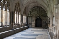 Cloisters of Westminster Abbey - London, England