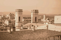 Torri della Parrocchia del Sacro Cuore di Girona - Girona, Spagna