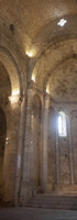 Partial view of the central apse of the monastery of Sant Pere de Galligants - Girona, Spain
