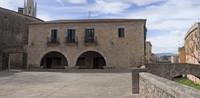 Jurats square in Girona - Girona, Spain