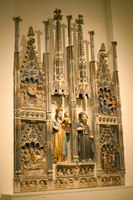 Altarpiece of the Virgin and Saint Anthony the Abbot - Barcelona, Spain