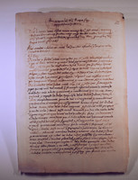 Document of the expulsion of the Jews from Girona - Girona, Spain