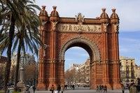 Barcelona's Arc de Triomf - Barcelona, Spain