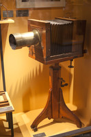 Collodion photographic camera - Girona, Spain