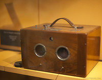 Stereoscopic photography camera of 1860-1900 - Girona, Spain
