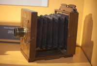 Travel photography camera from 1870-1900 - Girona, Spain