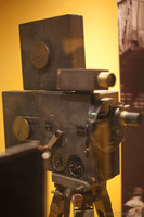 Gaumont film camera from 1910 - Girona, Spain