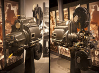 OSSA - Supersond Film projector - Girona, Spain