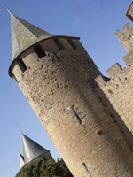 Saint-Paul tower of the Count's Castle - Carcassonne, France