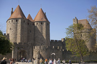 The Narbonne Gate - Carcassonne, France