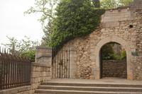Entrance to the Francesa gardens - Girona, Spain