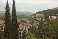 North area of Girona, Sant Pere de Galligants zone - Girona, Spain