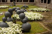 Temps de Flors 2016 en el patio de la catedral de Girona - Girona, España