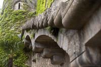 Staircase of the Carolingian wall of Girona - Girona, Spain
