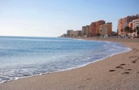 Fuengirola's beach in Costa del Sol - Fuengirola, Spain
