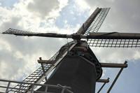 El molino de Keukenhof - Lisse, Países Bajos