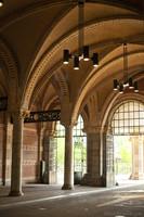 Neo-Gothic tunnel for bikes through the Rijksmuseum - Amsterdam, Netherlands