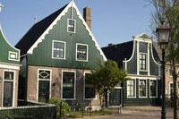 Houses of Zaanse Schans - Zaandam, Netherlands