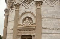 Timpano della Torre di Pisa - Pisa, Italia