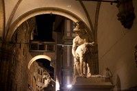Patroclo e Menelao nella Loggia della Signoria - Firenze, Italia